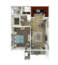 1 Bed Flat - Small