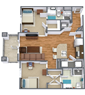Canopy apartments near uf in gainesville swamp rentals for 1 bedroom apartments in gainesville fl under 500