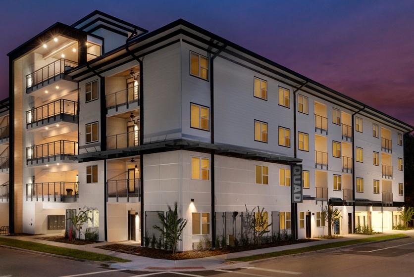The Quad Apartments in Midtown Gainesville, FL - Swamp Rentals